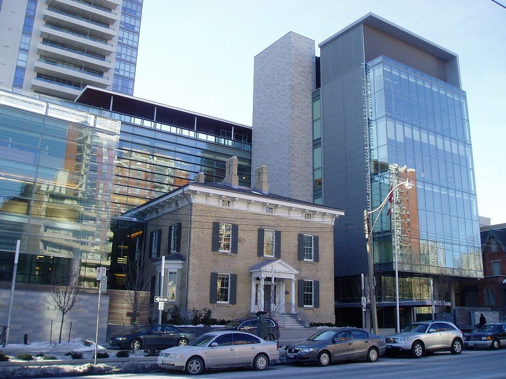 The National Ballet School of Canada, in Toronto. Another one of the best ballet schools in the world.