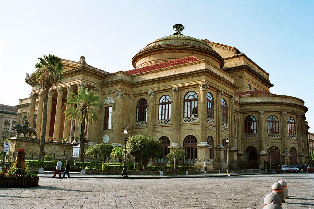 Italy Opera Houses: Teatro Massimo