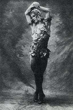 Male Ballet Dancers: Vaslav Nijinsky