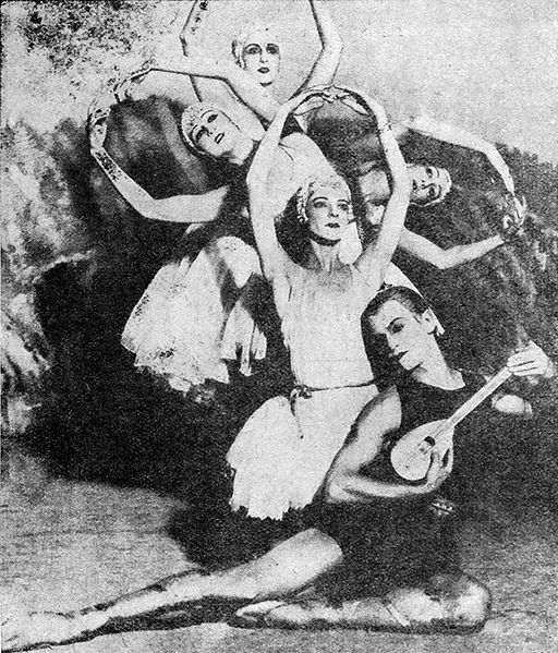 Ballet Russes is one of the most revolutionary ballet periods.
