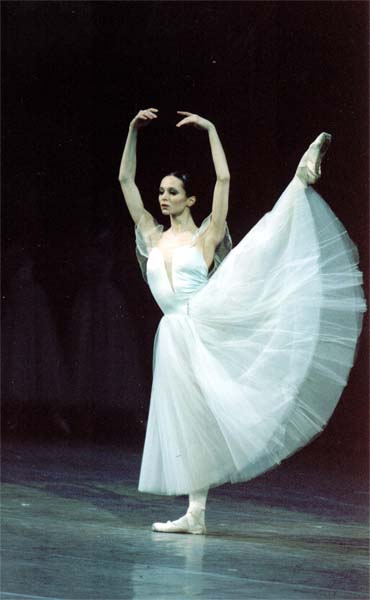 One of the most famous ballet dancers in the world is Diana Vishneva.