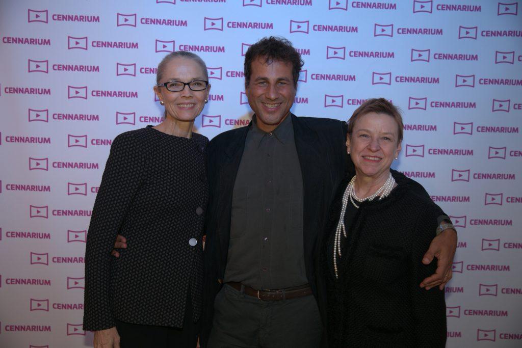 Cennarium launch: Janet Stapleton, Gulu Monteiro and LaRue Allen