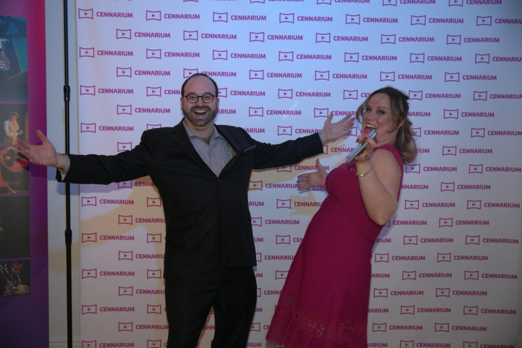 Cennarium launch: Leonard Jacobs and Themis Gomes
