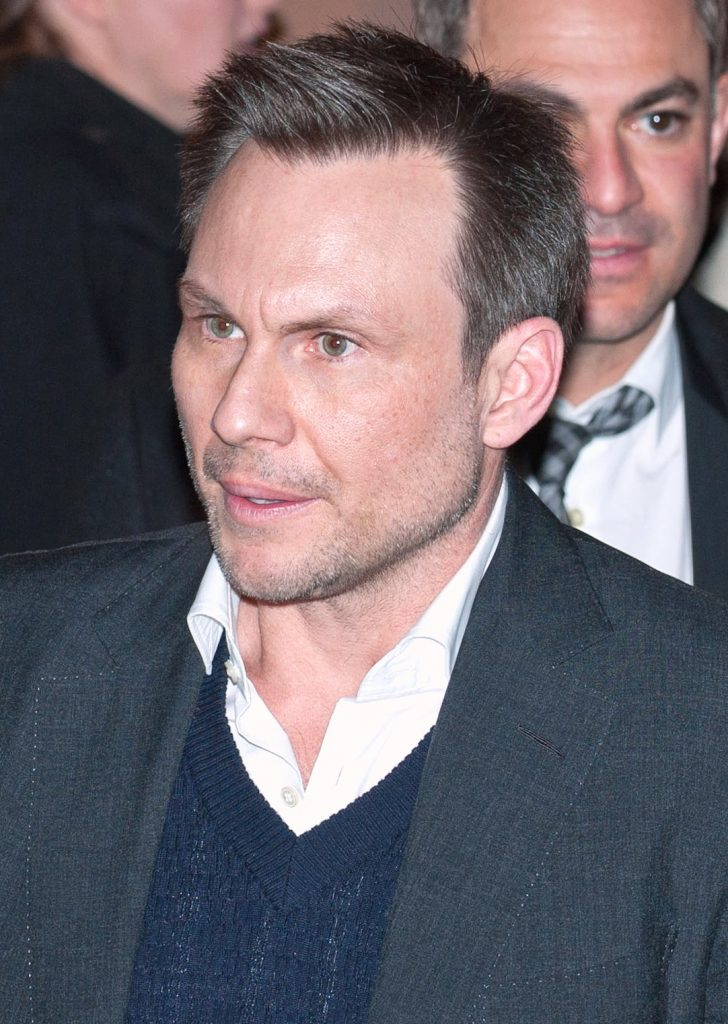 Celebrities in theater: Christian Slater