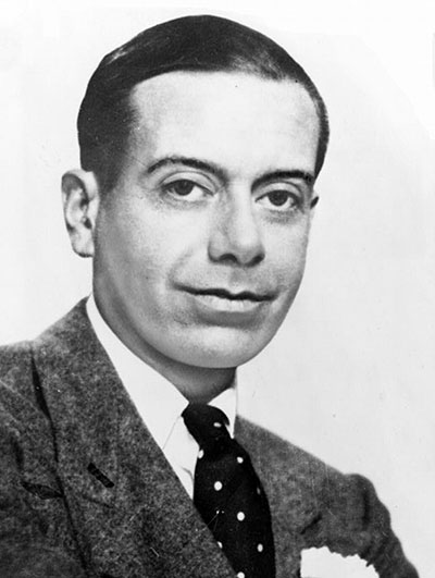 Picture of Anything Goes's composer, Cole Porter