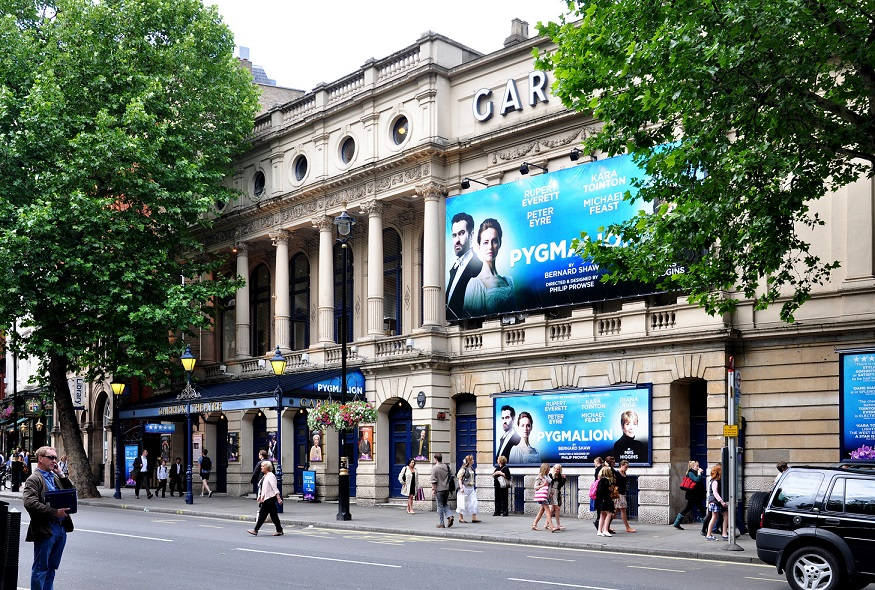 Garrick Theater, the third best ranked in our West End theatres list.