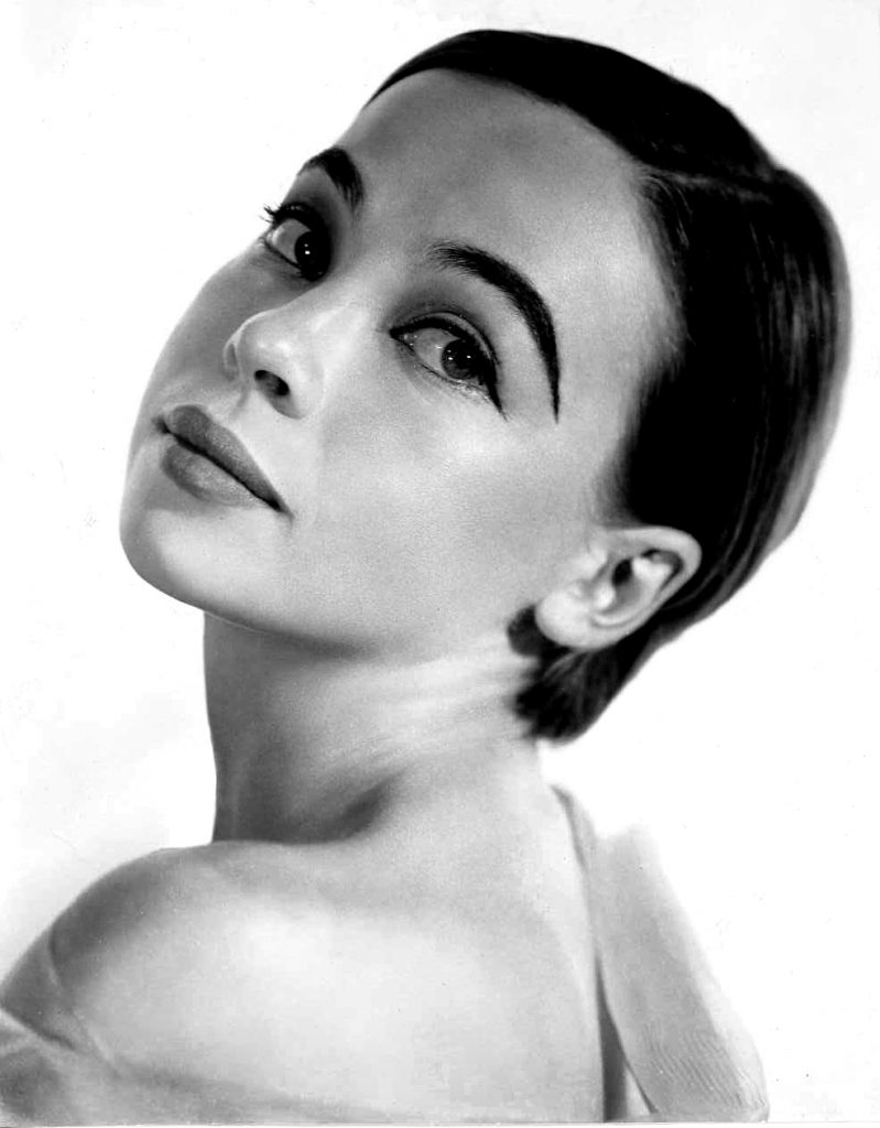 1950s Musicals: Leslie Caron as the main character Gigi.