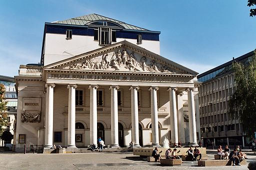 Things to do in Brussels: Theatre de La Monnaie.