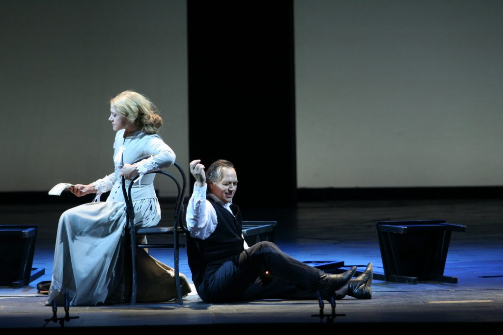 Sergei Prokofiev's The Gambler, a classic piece performed at the Mariisnky Theatre.