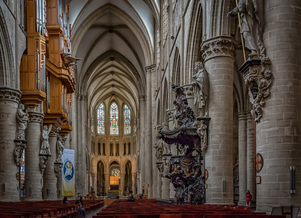 Things to do in Brussels: Cathedral of St. Michael and St. Gudula