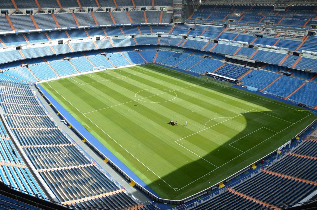 One of the most wanted things to do in Madrid by tourists: watch Real Madrid playing at the Santiago Bernabéu!