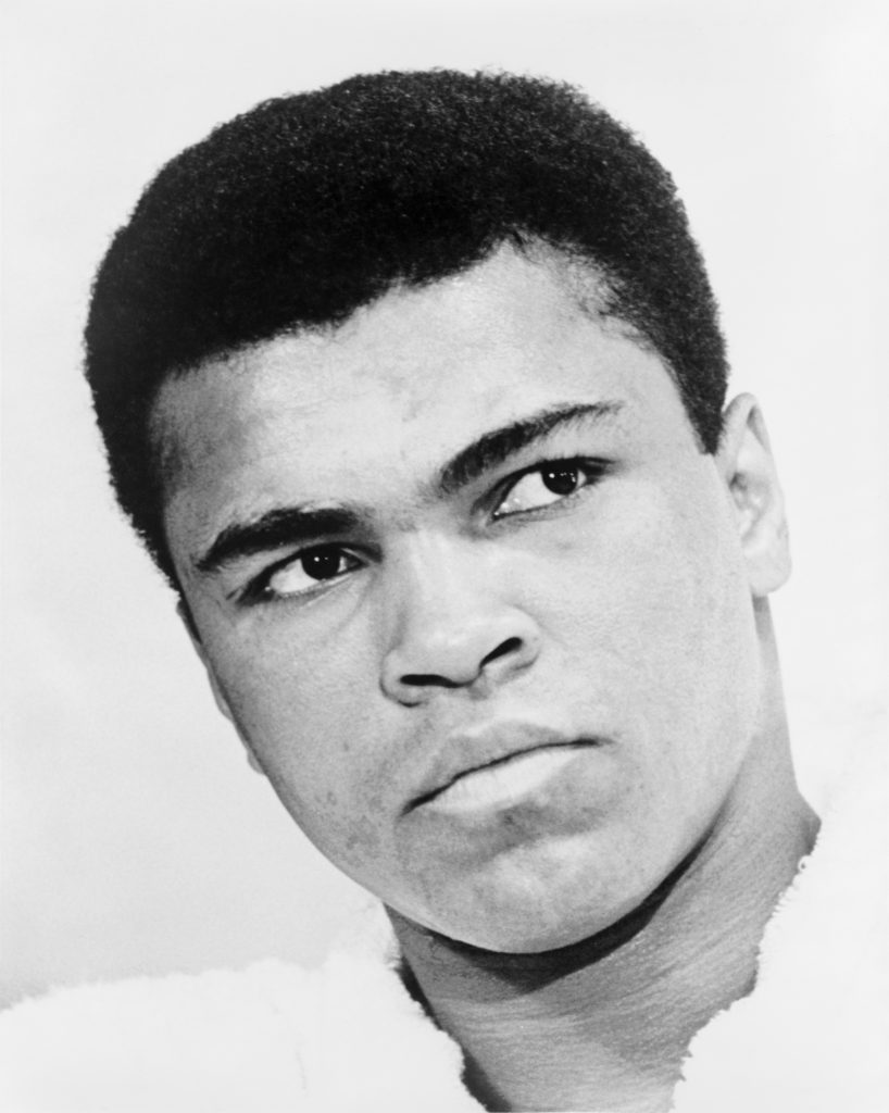 Celebrities in theater: Yes, Muhammad Ali was in a musical once.