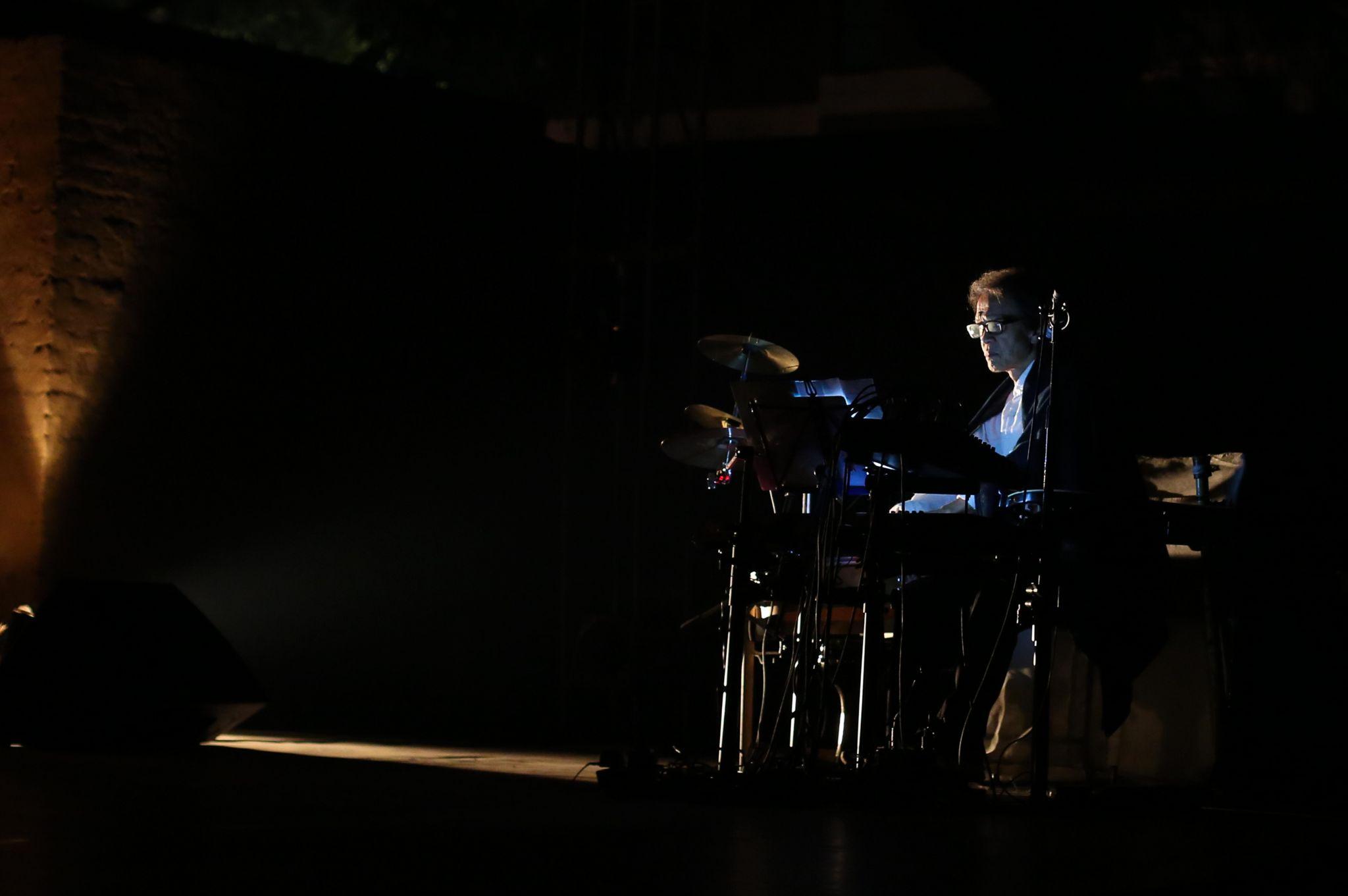 Astad Deboo on stage