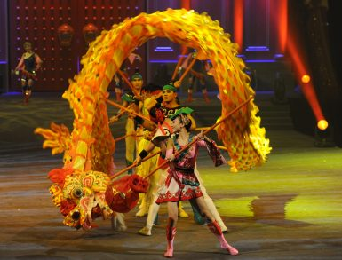 Stars of Beijing Circus: The Legend of Mulan